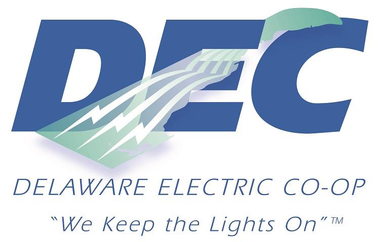 Delaware Electric Co-op Sponsor Logo