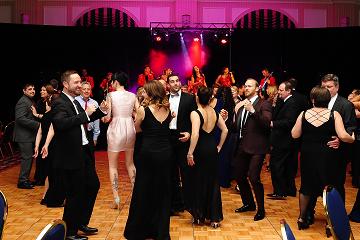 Dancing at Heart Ball