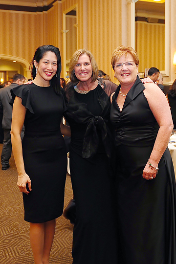 Terri, Kelly and Jane Mericle at the Heart Ball